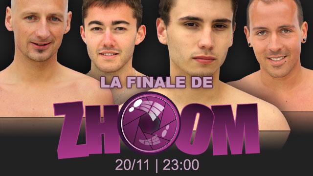 Tybo Calter et Florian Ladicat de Zhoom la tele-realite gay réalisée par Menoboy